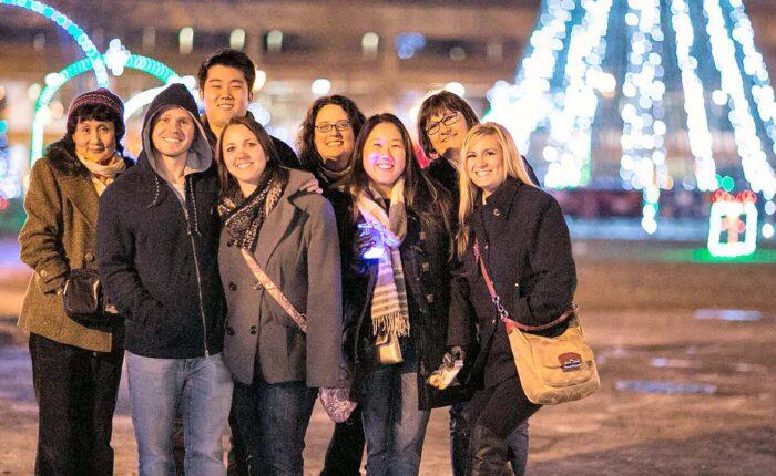 Christmas Past, Present & Future Light Tour