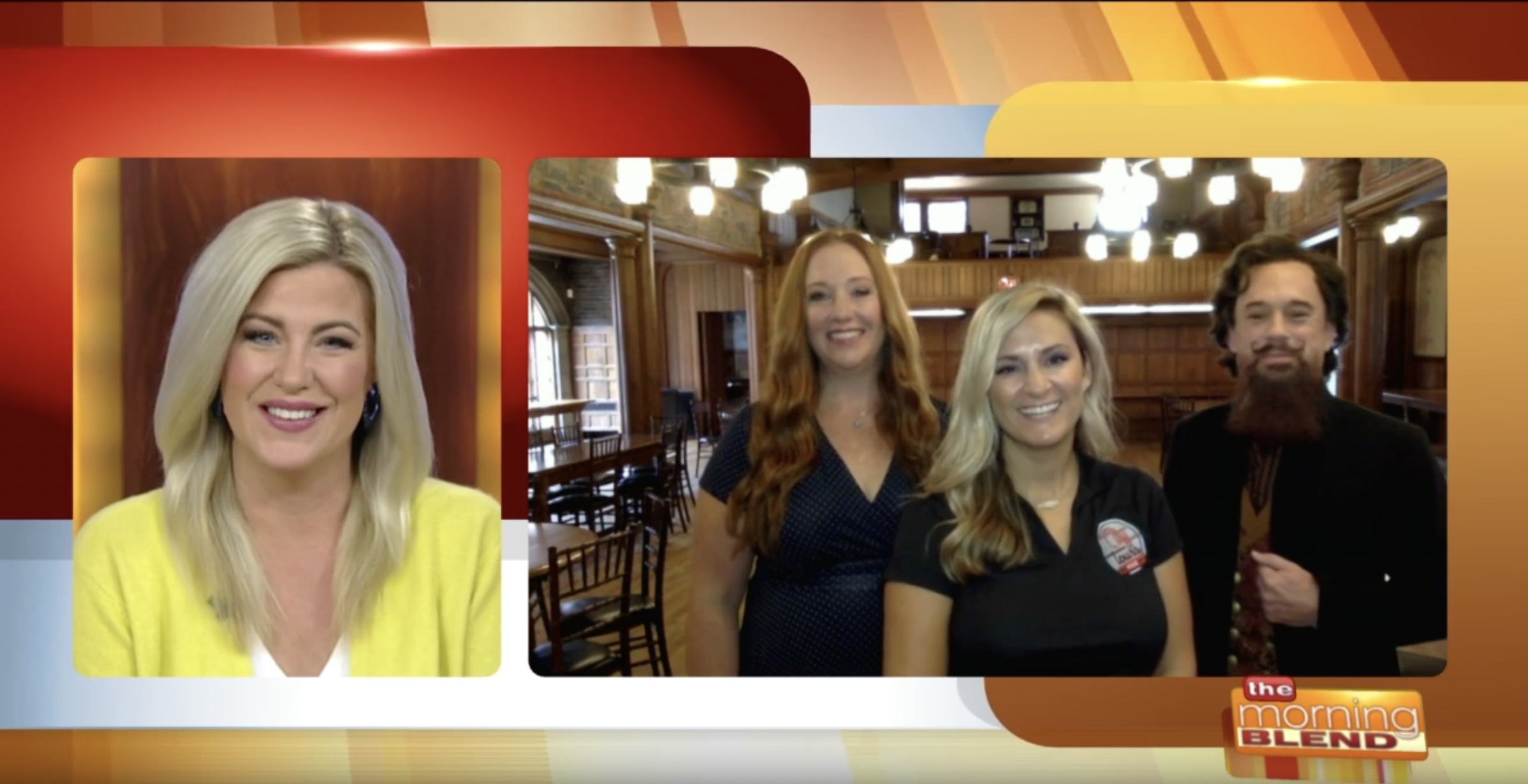 Screenshot from a Morning Blend feature of City Tours MKE Spirit Experience haunted tour of Milwaukee
